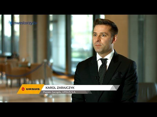 URSUS S.A., Karol Zarajczyk - Prezes Zarządu, #19 PREZENTACJE WYNIKÓW