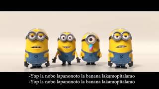 Despicable Me 2 | Minions Banana Song Lyrics