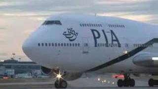 getlinkyoutube.com-PIA Boeing 747 take off