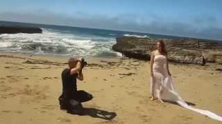 getlinkyoutube.com-Fine art nude photo shoot on the beach