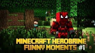 getlinkyoutube.com-Minecraft Herobrine - BEST MOMENTS #1