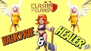 getlinkyoutube.com-3 Star With Valkyrie And Healer Attack Strategy Gameplay | Best Troop In The Game | Clash of Clans