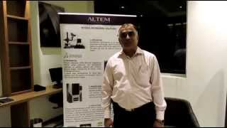 3D printing for aerospace industry, Mr Vaman Kulkarni's testimonial at ALTEM event