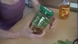 getlinkyoutube.com-Macerado de vinagre y romero para un cabello brillante. DIY shiny, healthy hair. EcoDaisy.