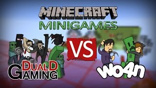 getlinkyoutube.com-Minecraft Minigames - DDG VS Watchout4noobs (Color Cube & Missile Wars)