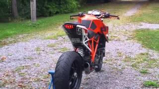 KTM Superduke 1290 custom led turnsignals