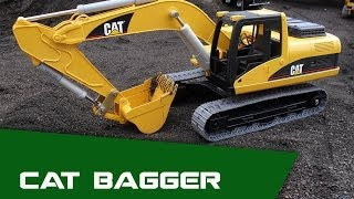 getlinkyoutube.com-Bruder RC Bagger CAT CTI 1:16