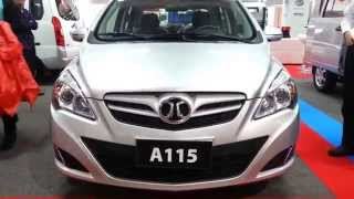 BAIC A115 2015 Video Exterior Colombia