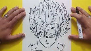 getlinkyoutube.com-Como dibujar a Goku paso a paso 3 - Dragon ball | How to draw goku 3 - Dragon ball