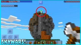 getlinkyoutube.com-Jugando en Servidores de Skywars Minecraft PE 0.16.0