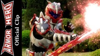 getlinkyoutube.com-Armor Heroes Fight with the Ray Monster - Armor Hero Official English Clip  [HD 公式] - 40