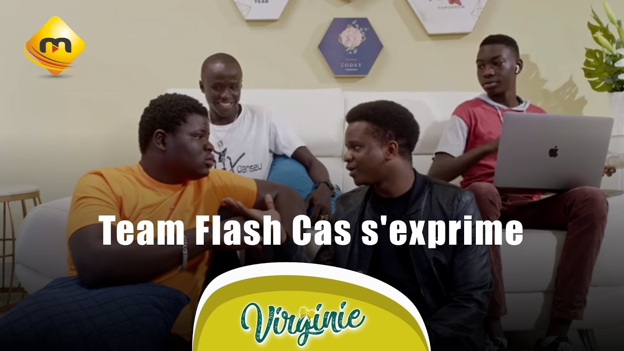 Série Virginie - Team flash Cas s'exprime