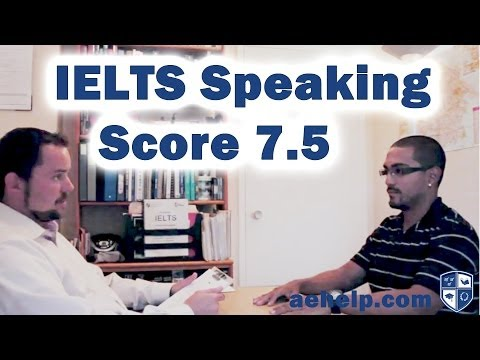 IELTS Speaking Section Example Practice Interview