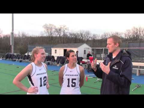Messiah Women's Lacrosse Postgame Interview vs Stevenson