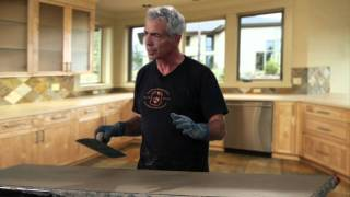 getlinkyoutube.com-How to Make a Cast in Place Countertop