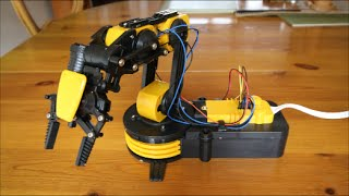 getlinkyoutube.com-Robotic Arm Kit - Gadgets Review Geek