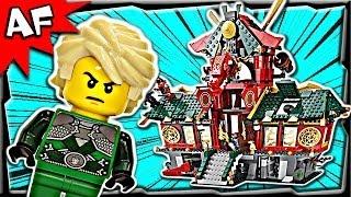 getlinkyoutube.com-Lego Ninjago BATTLE for NINJAGO CITY 70728 Stop Motion Set Review
