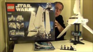 getlinkyoutube.com-Lego Star Wars Imperial Shuttle UCS set 10212 review