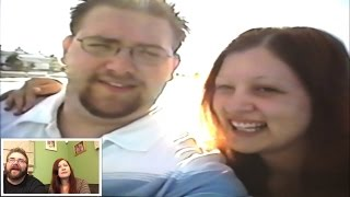 getlinkyoutube.com-ACCIDENTALLY RECORDED OVER OUR WEDDING TAPE! REACTING TO OUR 14 YR OLD HONEYMOON VIDEO!