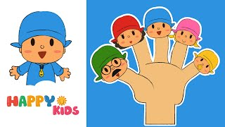 getlinkyoutube.com-Finger Family Song - Mega Finger Family Collection. Pocoyo, Minions, Mickey Mouse From HappyKids