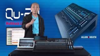 getlinkyoutube.com-Allen & Heath QU-24 : Multitrack Recording | PT Kairos Multi Jaya | Part 4/6
