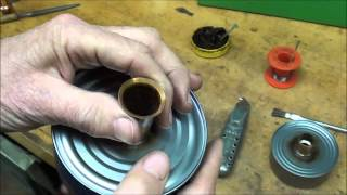 getlinkyoutube.com-MACHINE SHOP TIPS #135 Making a Spillproof Oilcan for the Atlas Lathe tubalcain