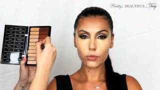getlinkyoutube.com-[HD] Makeup Artist Make Up Tutorial Kim Kardashian Professional Get The Look Tutorial 2014