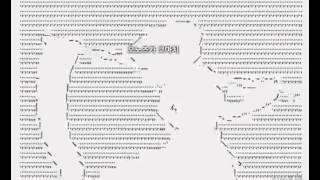 getlinkyoutube.com-[티비플]문자로 만든 Bad Apple(어지러움 주의)