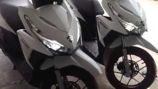getlinkyoutube.com-Honda click 125i 2016 (VS) honda click 125i 2016 LED full style