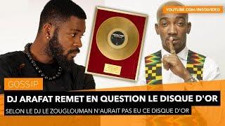 DJ Arafat remet en question le disque d'or de Yabongo Lova width=