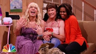 "getlinkyoutube.com-""Ew!"" with Jimmy Fallon, Will Ferrell & First Lady Michelle Obama"