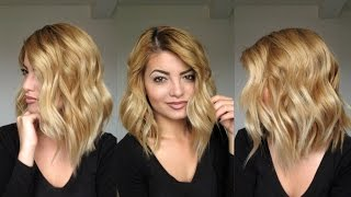 getlinkyoutube.com-Beachy Waves Hair Tutorial 2015