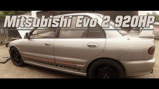 getlinkyoutube.com-Mitsubishi Lancer Evo II 920HP street race vs. Suzuki GSX-R 1000
