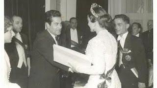 فريد الأطرش في حفل زواج الملك حسين يغني الأغاني ♥ نورا نورا ♥ أنا وأنت لوحدنا ♥ وياك ♥ جميل جمال