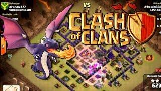 حرب الكلانات ( دراقووووون ) - #2 clash of clans