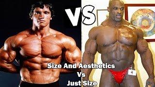 getlinkyoutube.com-Arnold Schwarzenegger vs Ronnie Coleman ( Size And Aesthetics Vs Just Size! ) HD