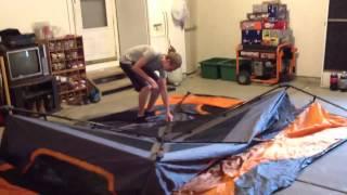 getlinkyoutube.com-Ozark trail 8-person instant tent