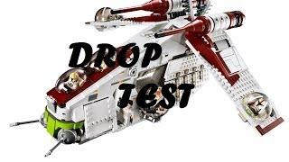 getlinkyoutube.com-LEGO Star Wars 75021 Republic Gunship Drop Test
