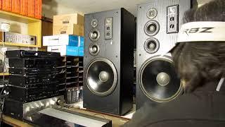 """getlinkyoutube.com-Infinity SM-155 Studio monitors Speakers 15"""" WOOFERS 10 - 300 WATTS LARGE SPEAKE"""