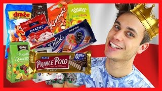 getlinkyoutube.com-Norwegian trying Polish Candy