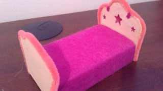 getlinkyoutube.com-How to Make LPS Furniture 2: Beds