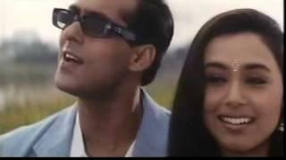 Sarki Jo Sar Se Woh Dheere Dheere (Rani Mukharji and Salman Khan) - Hindi / Bollywood Song
