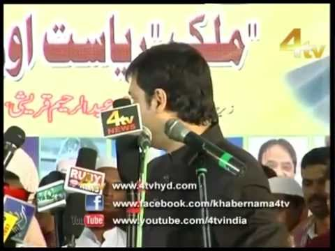 Akbaruddin Owaisi's Hate Speech at Nirmal, District Adilabad