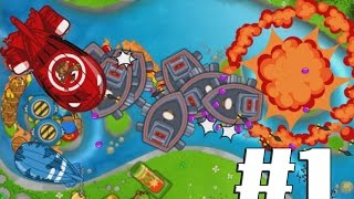 Bloons Monkey City - Where Does The River Go? E1