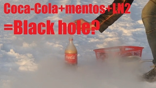 Why there isn't videos about Coca-cola + Mentos + liquid nitrogen?