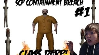getlinkyoutube.com-I'M CLASS DERP!| SCP Containment Breach- Part 1?!