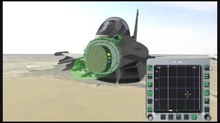 getlinkyoutube.com-BAE Systems - Eurofighter Typhoon Captor E-Scan AESA Radar Simulation [480p]