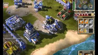 Red Alert 3 2v2 Game