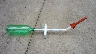 getlinkyoutube.com-How to make a Paper Rocket Launcher with PVC