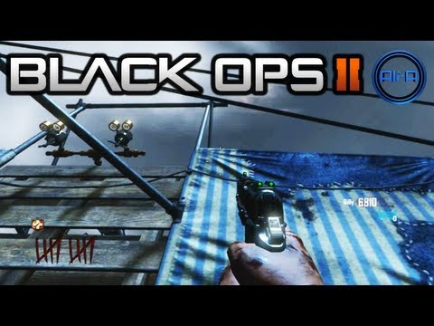 """HOW TO BUILD PLANE 100%"" - ""MOB OF THE DEAD"" Zombies Gameplay - Black Ops 2 UPRISING DLC Map Pack"